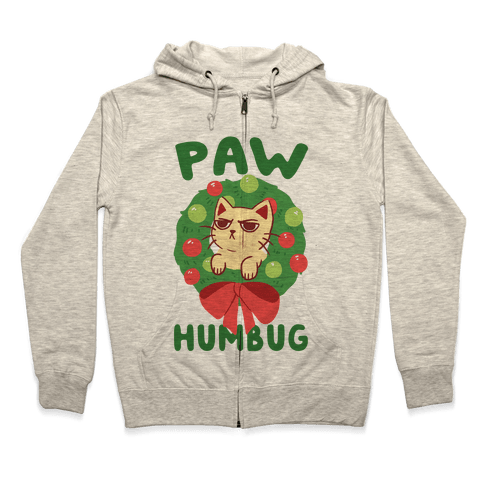 Paw Humbug  Zip Hoodie