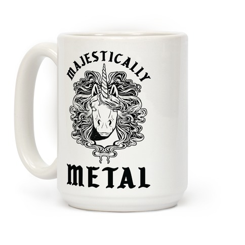 Majestically Metal Unicorn Coffee Mug