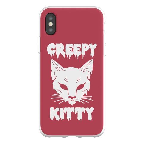Creepy Kitty Phone Flexi-Case