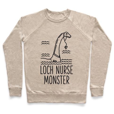 Loch Nurse Monster Pullover