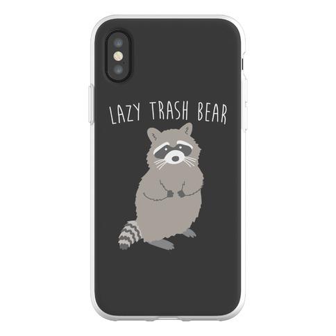 Lazy Trash Bear Phone Flexi-Case