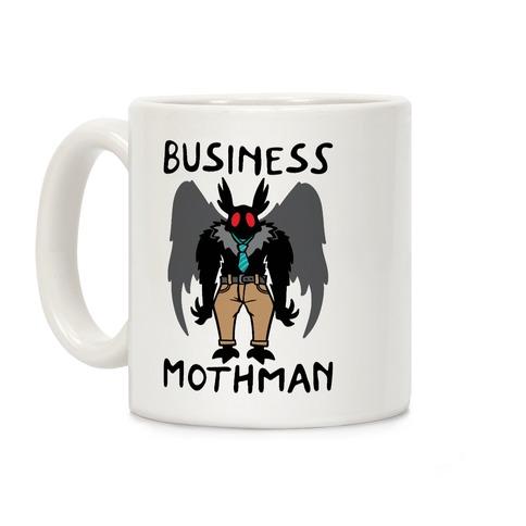 Business Mothman Parody Coffee Mug