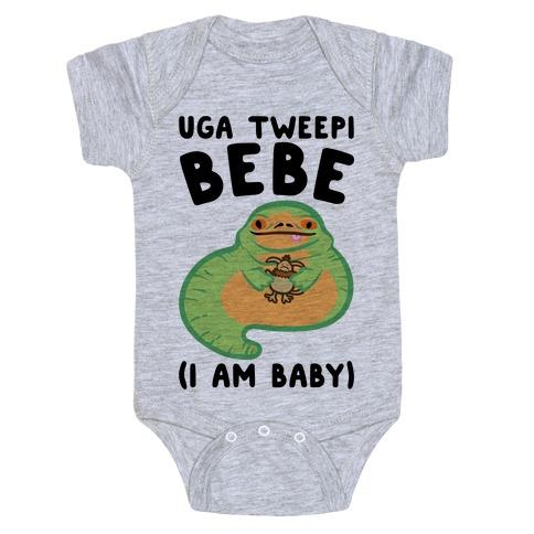I Am Baby Jabba Parody Baby Onesy