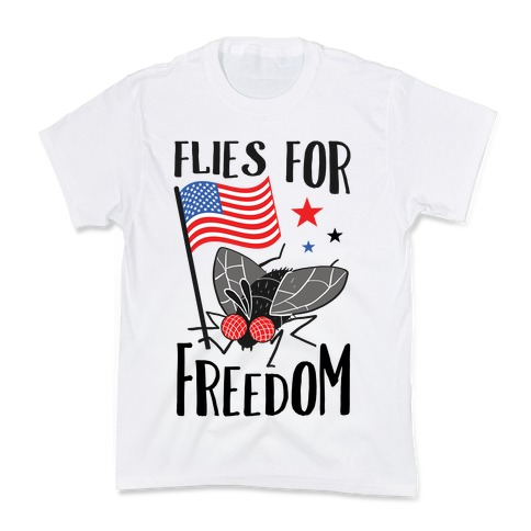 Flies For Freedom Kids T-Shirt