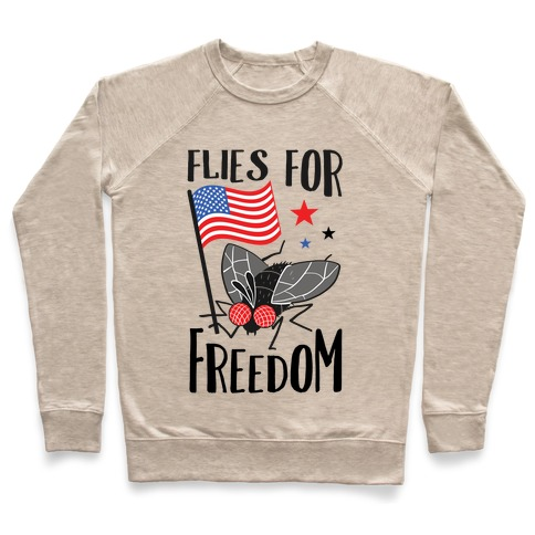 Flies For Freedom Pullover