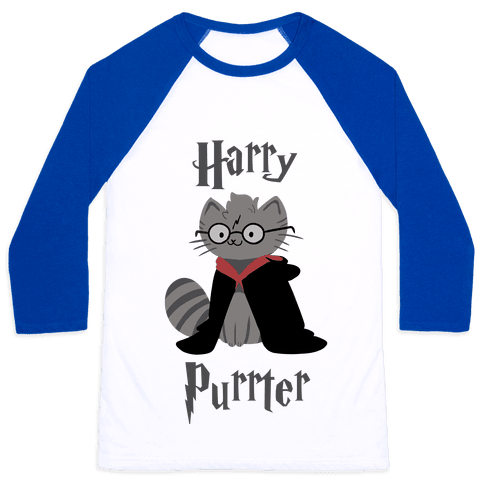 Harry Purrter Baseball Tee