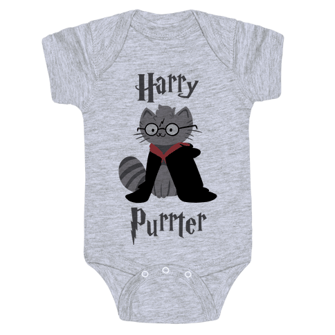 Harry Purrter Baby Onesy