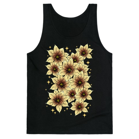 Poinsettia Bouquet Tank Top