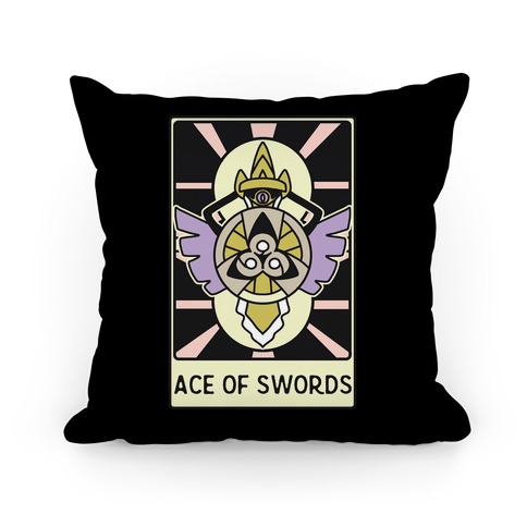Ace of Swords - Aegislash Pillow
