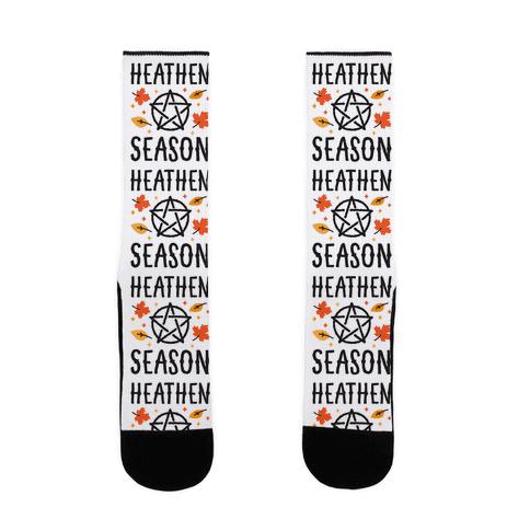 Heathen Season Sock