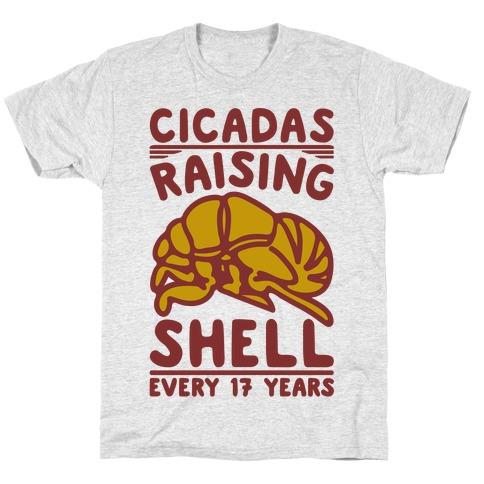 Cicadas Raising Shell  T-Shirt