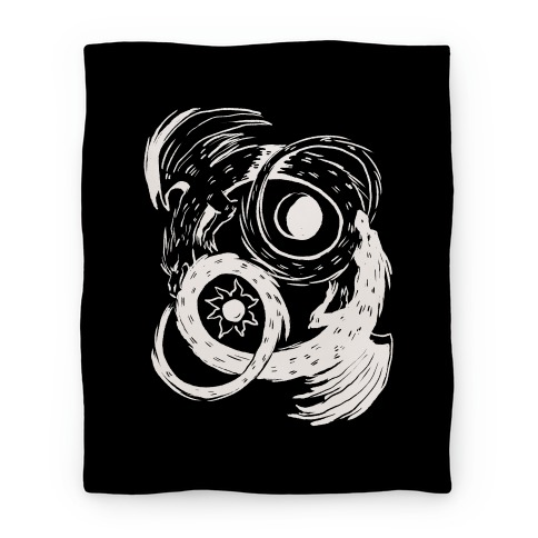 Dark-Light Ouroboros Blanket