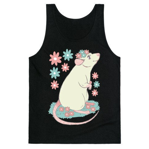 Soft Pastel Rat Tank Top