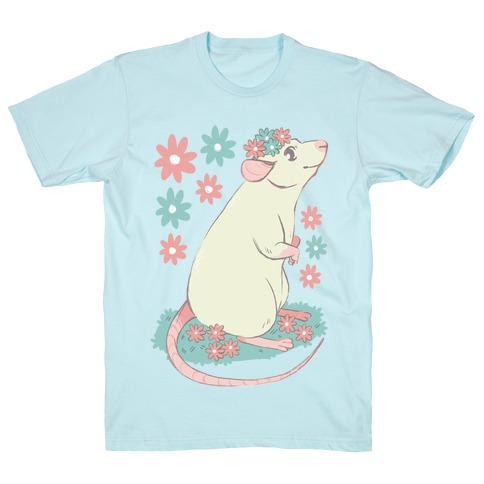 Soft Pastel Rat T-Shirt