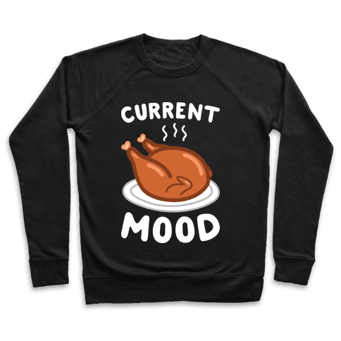 Current Mood Turkey (White) Pullover