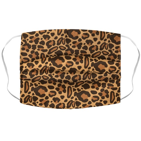 Leopard Print Pattern Face Mask Cover