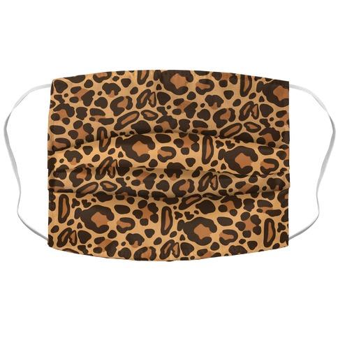 Leopard Print Pattern Face Mask