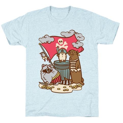 Captain Hedgie's Salty Crew T-Shirt