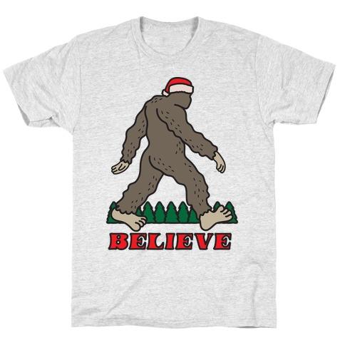 Santa Sasquatch T-Shirt
