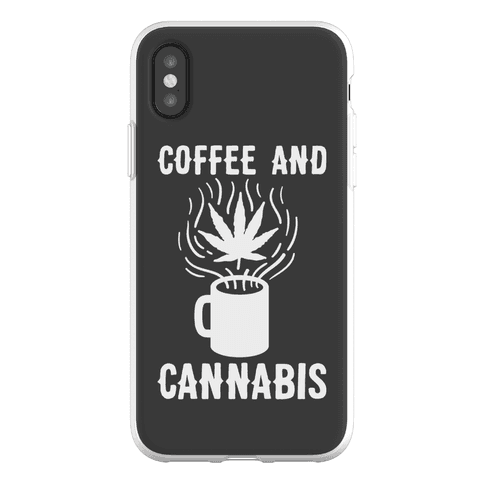 Coffee And Cannabis Phone Flexi-Case