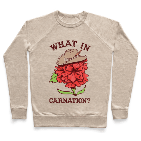 What In Carnation? Pullover