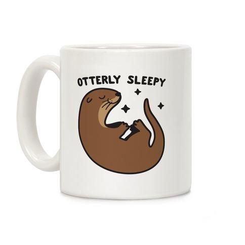Otterly Sleepy Coffee Mug
