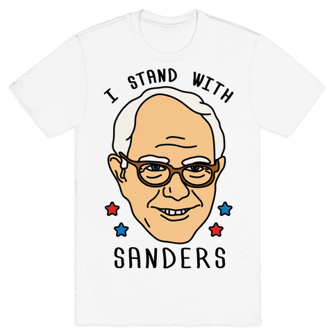I Stand With Sanders Mens T-Shirt