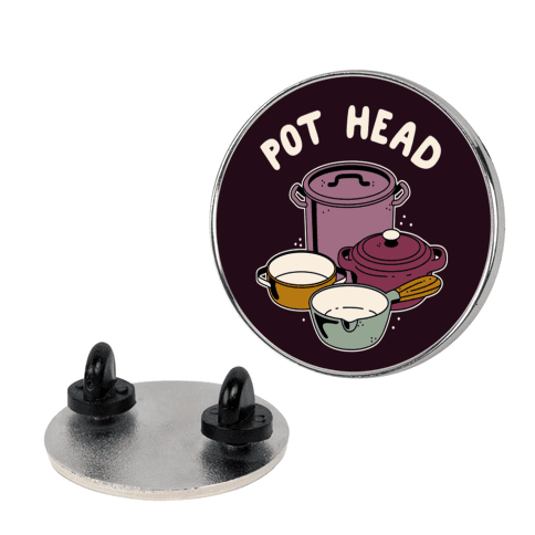 Pot Head Cooking Pots Pin