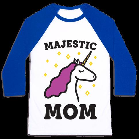 Majestic Mom Baseball Tee