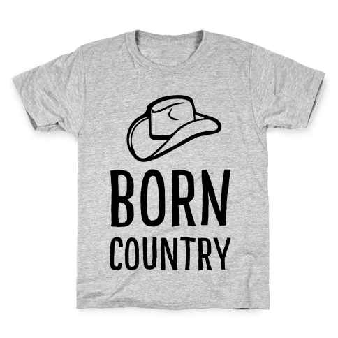 Born Country Kids T-Shirt