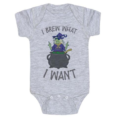 I Brew What I want Baby Onesy