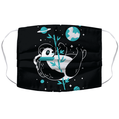Space Panda Face Mask Cover