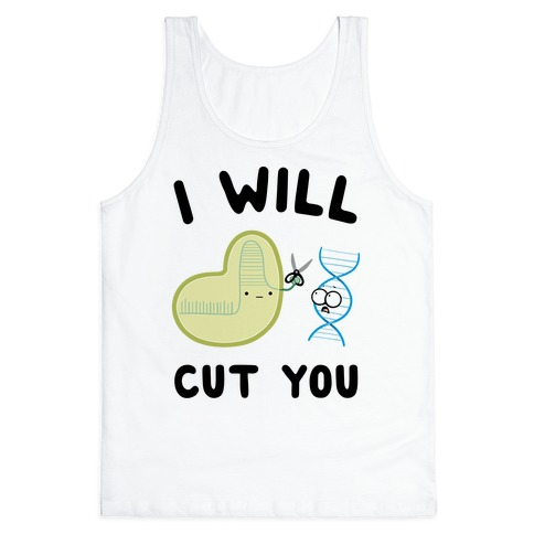 Crispr Will Cut You Tank Top