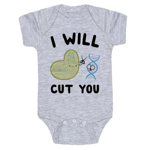 Crispr Will Cut You Baby Onesy
