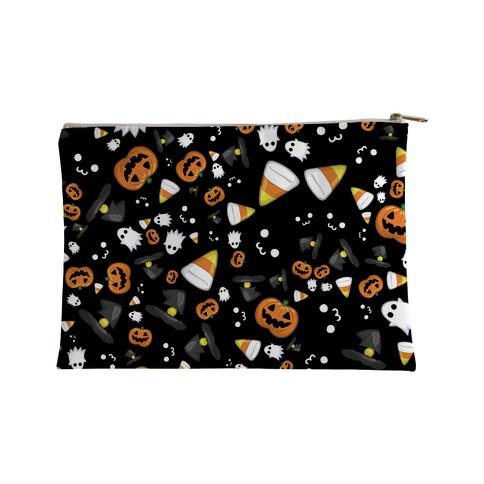 Spoopy Halloween Pattern Accessory Bag