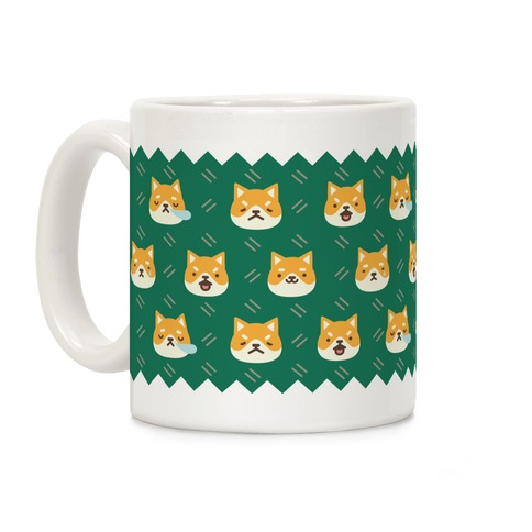 Shiba Inu Emoji Mug Coffee Mug