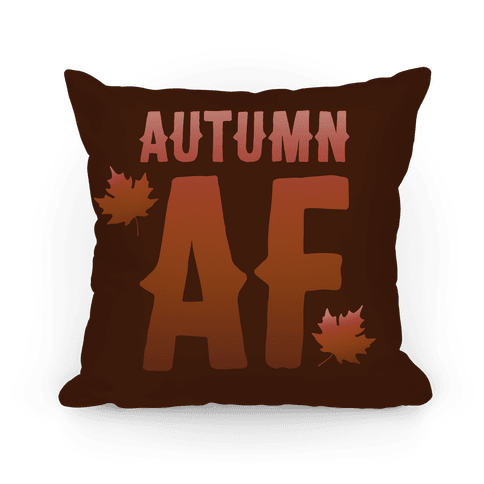 Autumn Af Pillow