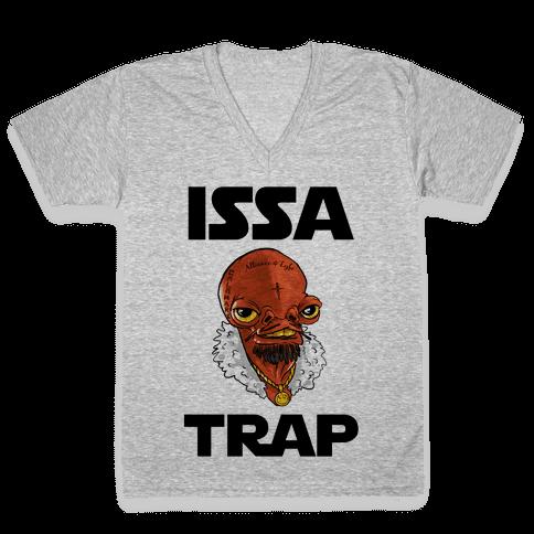 Issa Trap V-Neck Tee Shirt