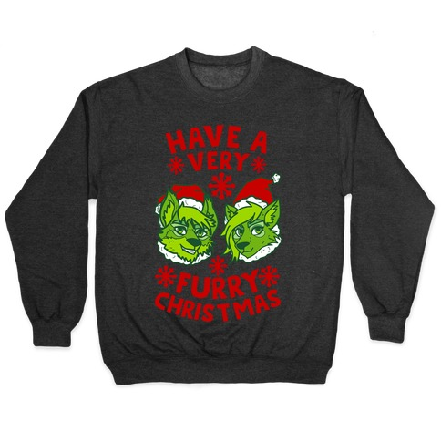 Have A Very Furry Christmas Pullover