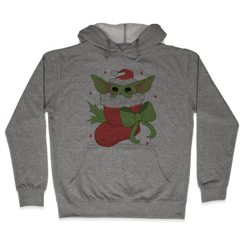 All I Want For Christmas Is Baby Yoda Hooded Sweatshirt