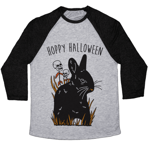 Hoppy Halloween Baseball Tee