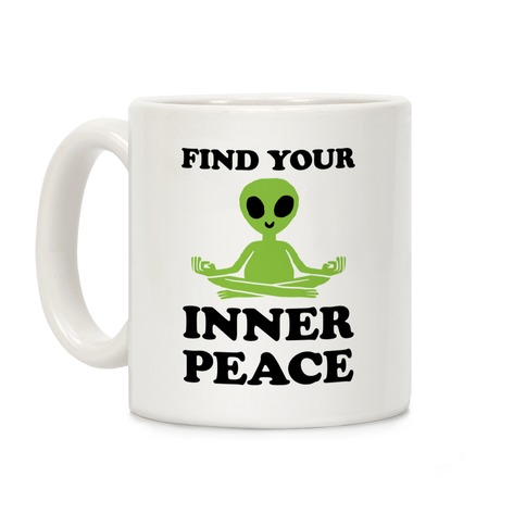 Find Your Inner Peace Coffee Mug