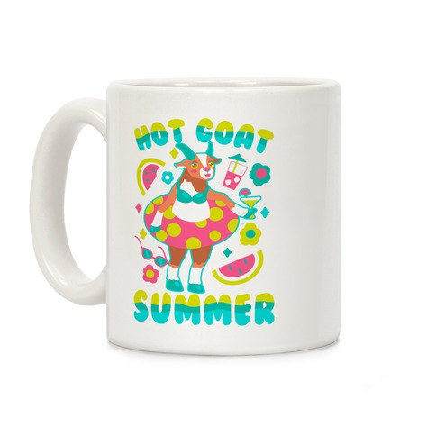 Hot Goat Summer Coffee Mug
