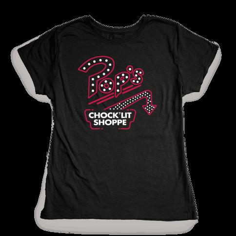Pop's Chock'Lit Shoppe Womens T-Shirt
