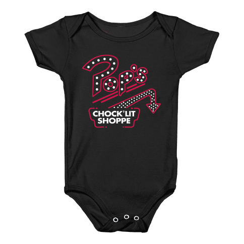 Pop's Chock'Lit Shoppe Baby Onesy