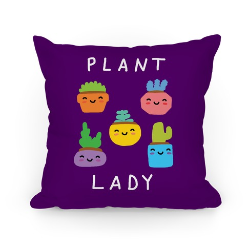 Plant Lady Pillow