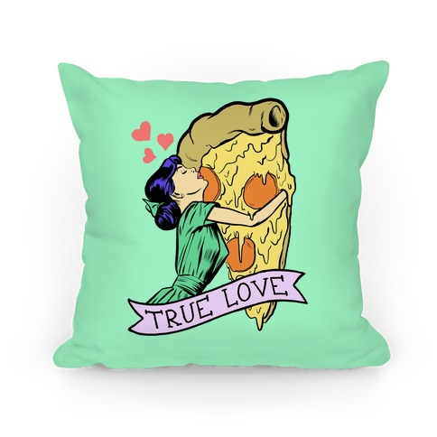 True Love Comics and Pizza Pillow