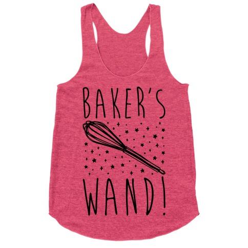 Baker's Wand Racerback Tank Top