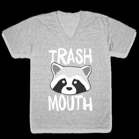 Trash Mouth V-Neck Tee Shirt