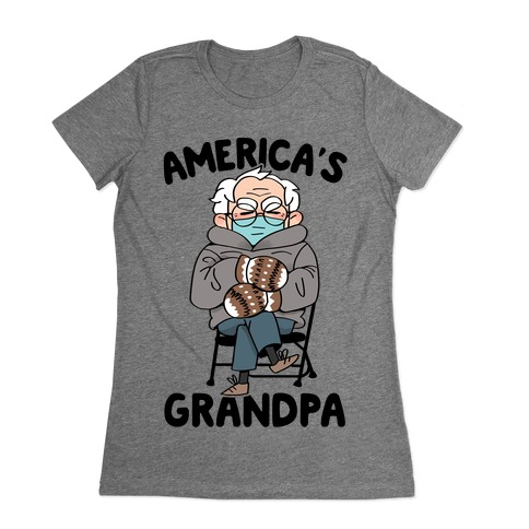 America's Grandpa Womens T-Shirt